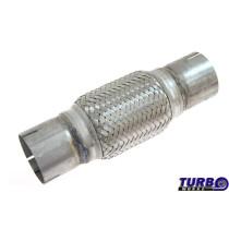 Kipufogó Flexibilis cső 50,8 mm 25.5cm rozsdamentes